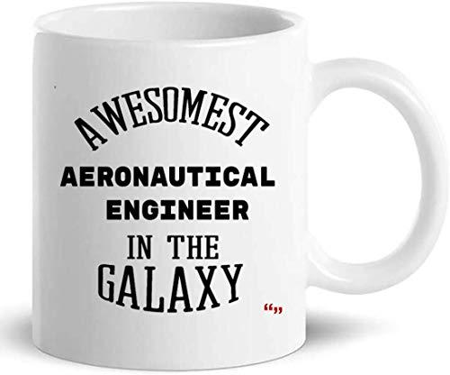 Not Applicable Ingeniero Aeronáutico Taza Taza de café - Regalo Divertido de ingeniería para Hombres Mujeres Novedad