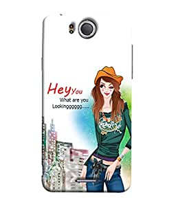 FUSON Designer Back Case Cover for InFocus M530 (Family Friends Happiness Together Sister )