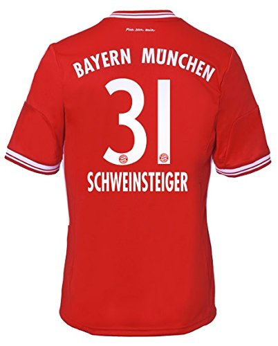 Trikot Adidas FC Bayern München 2013-2014 Home (Schweinsteiger 31, 164)