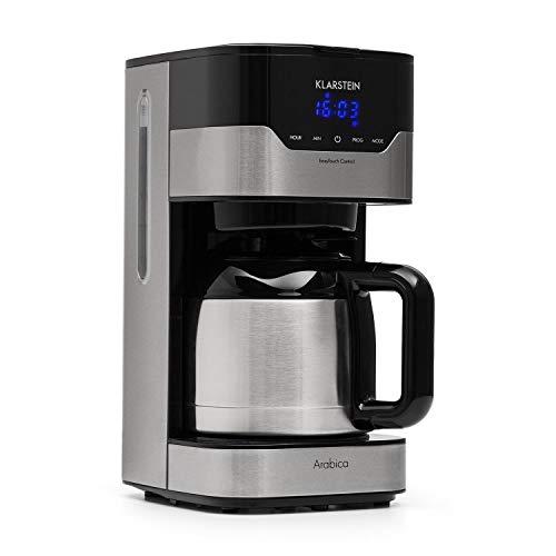 Klarstein Kaffeemaschine Arabica mit Filter • Filter-Kaffeemaschine • 800 Watt • EasyTouch...