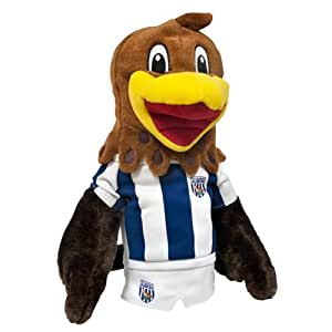 West Bromwich Albion Baggie Bird Mascot Headcover - Brown/Blue/White