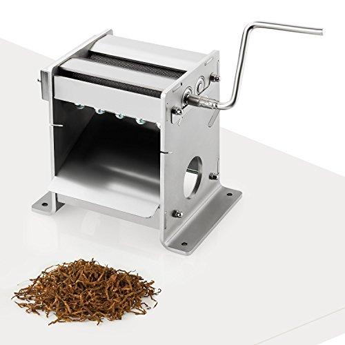 Preisvergleich Produktbild Tabakschneidemaschine TC-120 Tabakschneider Tabakblätter Tobacco Cutter 0,8mm Kugellager