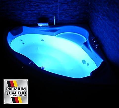 Whirlpool Badewanne Paris MADE IN GERMANY mit 8 Massage Düsen