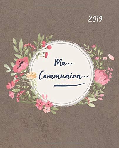 Ma Communion: Album pour une journée très spéciale | Livre d'or avec beaucoup d'espace pour les souhaits bénis | Amour, bonheur et bénédictions par  Olivia Voyage