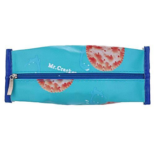 TianranRT 1 Stück Niedlich Obst Bleistift Koffer Bleistift Tasche Mädchen Schreibwaren Büro Mini Portemonnaie Beutel (F)