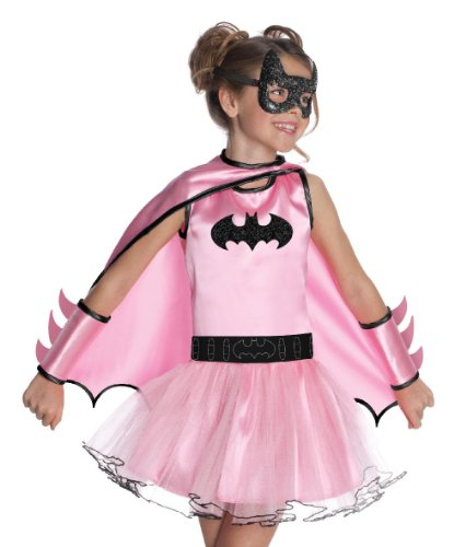 erkostüm BATGIRL Fasching Karneval Batman M (8-10) (Batgirl Original Kostüm)