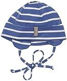 Sterntaler Unisex Baby Mütze Beanie, Gr. 39 cm, Blau (eisblau 345)