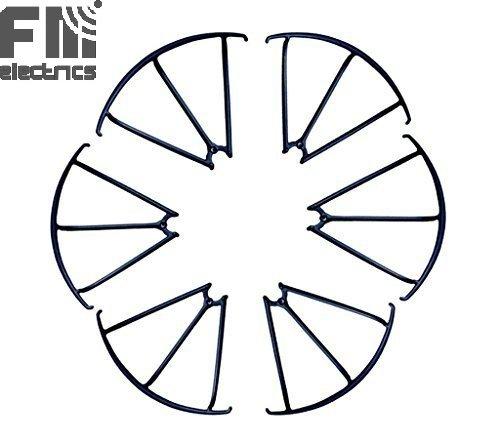 Preisvergleich Produktbild Fm-electrics X600 6x Rotorschutz | Ersatz-Schutzringe für MJX X600w, passend auch für MJX X600