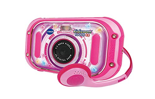 VTech Kidizoom Touch 5.0 Digital Photo Camera, Spanish Version, Pink R