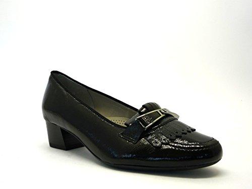 Ara shoes , Mocassins pour femme Noir
