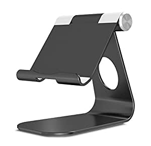 OMOTON Support Nintendo Switch, Support en Aluminium pour Nintendo Switch, Multi-angle Nintendo Switch Stand, Noir