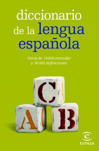 Diccionario de la lengua española Mini (DICCIONARIOS LEXICOS) por Espasa Calpe