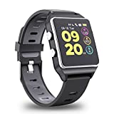 【2019 Aggiornato】Smartwatch GPS Orologio Fitness Uomo Donna Impermeabile IP68 Smart Watch Cardiofrequenzimetro da Polso Contapassi Calorie Cronometro Smartband Activity Tracker Per iPhone Android iOS