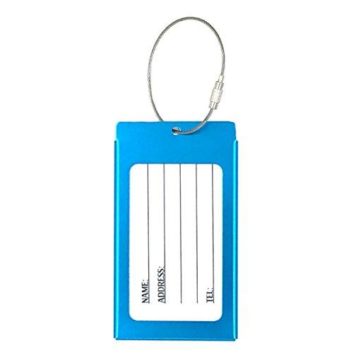 Tapp Collections Porte Cartes De Visite En Alliage D Aluminium Durable Model S Aqua 4 1 X 2 4 X 0 14