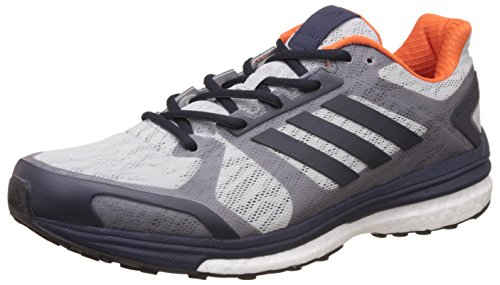 adidas Supernova Sequence 9, Chaussures de Running Compétition Homme Gris (Lgh Solid Greynight Navymidnight Grey)