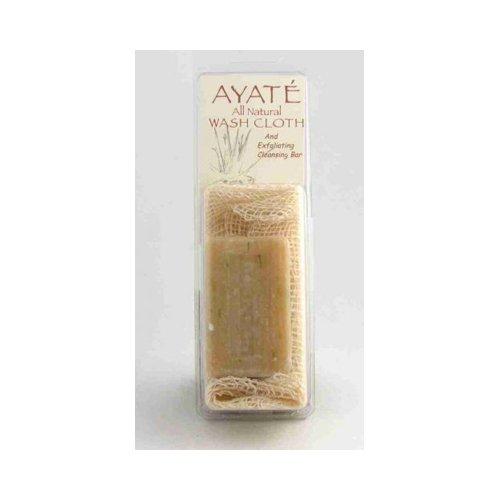 Thai Deodorants Ayate All-Natural Wash Cloth w/Cleansing Bar by Thai Deodorants