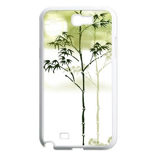 En Bambou sur mesure Etui Coque Housse Pour Samsung Galaxy Note 2N7100, Custom ygtg-334291