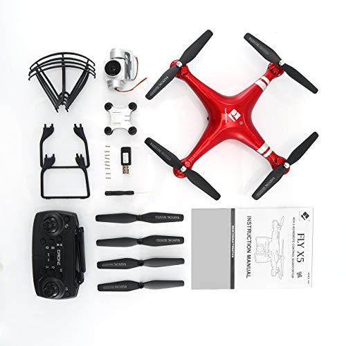 Ballylelly X52 RC FPV Drone 2MP 720P WiFi HD Cámara