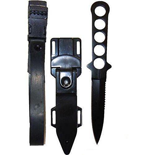 Armeeverkauf Tauchermesser Edelstahl mit Lochgriff -