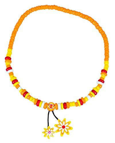 Le Coin Des Enfants-27811-Collar, diseño de Flores, Color Amarillo