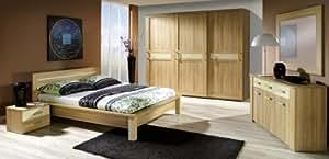 Design de luxe pour chambre à coucher complète meuble bois de chêne sL17!