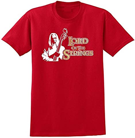 Double Bass Lord Strings Gandalf - Red Rouge T Shirt Taille 87cm 36in Small MusicaliTee