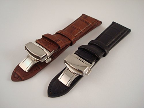 deploiement-montre-sangle-etui-en-cuir-de-qualite-differentes-tailles-et-couleurs-18-22-mm-noir-blac