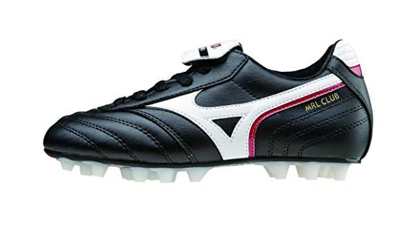 029a94076ed Mizuno Morelia MRL Club J 24 Junior Child Football Shoe Black White Red   Amazon.co.uk  Sports   Outdoors
