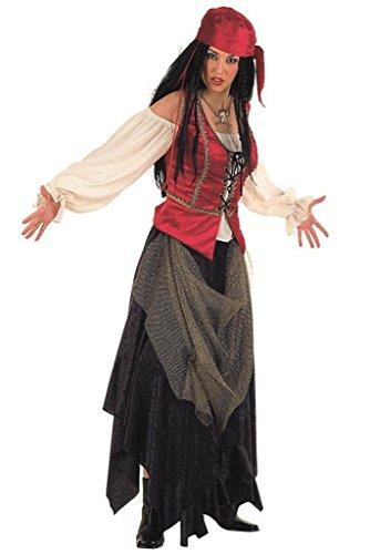 Limit Damen Kostüm Pirat Valorius\'Corsair Arbeitsspeicher (2X, groß)