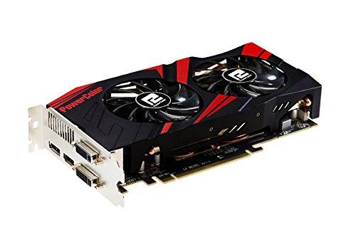 PowerColor AXR9 270X 2GBD5-TDHE/OC TurboDuo NVIDIA R9270X Grafikkarte (ATI, PCI-e, 2048MB GDDR5 Speicher, Dual-DVI/HDMI, 1 GPU)