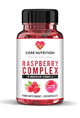 Powerful Fat Burner - 100% Organic 8 Ingredient Complex - Raspberry Extract Ketones - Green Coffee Extract - Fat Burner - Overall Health Boost 120 Capsules (2 Month Supply) - Core Nutrition U.K by CoreNutritionUK