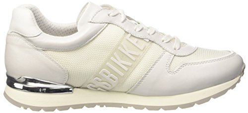 Bikkembergs Kate 853, Sneakers basses femme Bianco Sporco (Ice)