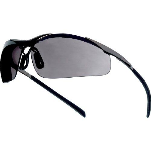 Bolle Contour Advanced CONTMPSF &kratzfest beschlagfrei, Metallrahmen, Smoke Schutzbrille [1] Stück w/Min, Cleva ®, 3 Jahre Garantie