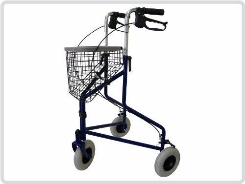 Delta Dreiradgehwagen, Leichtgewicht, Farbe: dunkelblau *Top-Qualität zum Top-Preis*