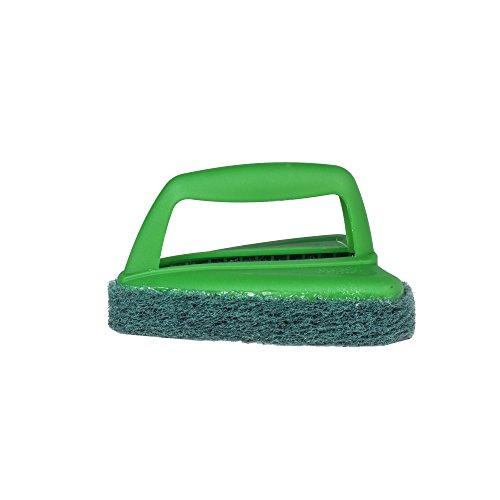 Scotch-Brite Bathroom Scrubber Plastic Brush (Green)