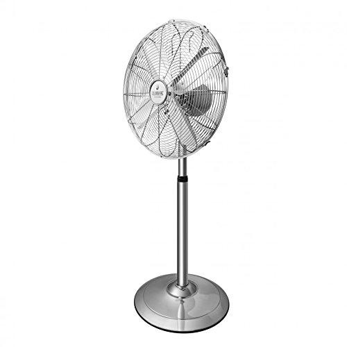 Ventilador del Suelo ELDOM WGC50 Blanco, Potencia 45W, Diametro de Malla 40cm