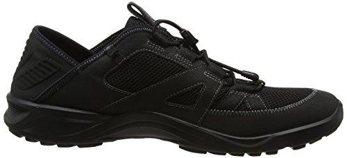 Ecco Hombre Para Bajo Negro Terracruise negro El Caminar Zapatos Negro pYrqpwxCS
