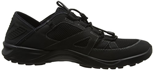 Bajo Negro Caminar Zapatos Negro Hombre Para El Ecco Terracruise negro 7Iwpg