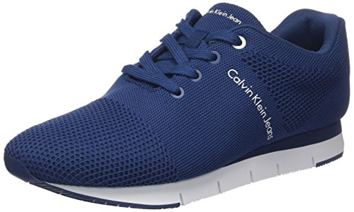 Calvin Klein Jeans Jado Mesh, Sneaker Uomo, Nero (Stb), 43 EU