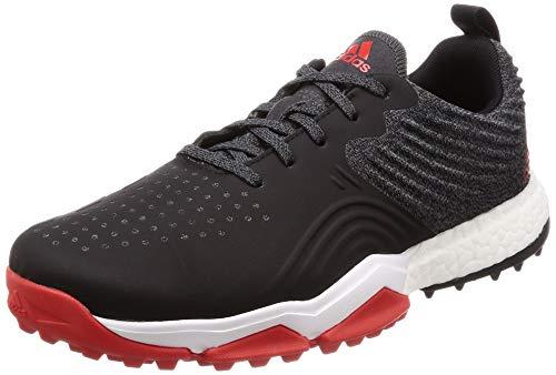 adidas Adipower 4orged S, Scarpe da Golf Uomo, Bianco (Negro/Blanco/Rojo B37175), 44 2/3 EU