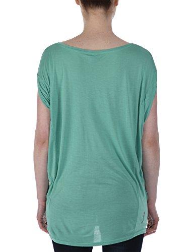 Bench, Maglietta Donna Amplize Verde (Creme De Menthe)