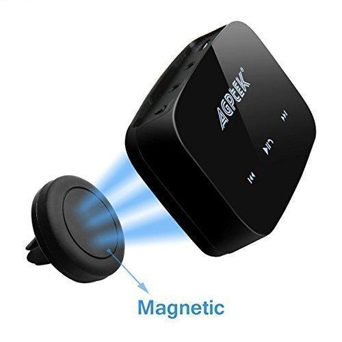 AGPTEK - attivato ricevitore Audio musica HiFi Bluetooth 4.0 / adattatore - riportare il vecchi impianti Stereo e gli altoparlanti in vita šC con magnetica universale auto montare la culla del supporto e cavo RCA gratis