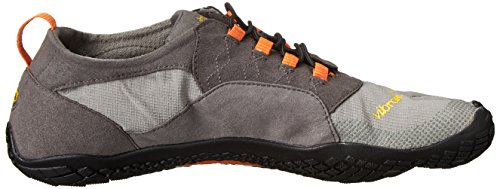 Vibram Five Fingers Herren Trek Ascent Outdoor Fitnessschuhe Multicolore (Grey/orange/black)