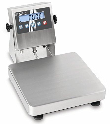 Balance d'industrie (ATEX) [Kern IEX 10K-3MEU] Balance plate-forme robuste avec approbation ATEX pour l'utilisation en atmosphères explosibles, Portée [Max]: 15 kg, Lecture [d]: 5 g, Reproductibilité: 5 g, Linéarité: 5 g, Plateau de pesée: LxPxH 300x300x70 mm (Inox)