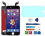 "AUODA Pantalla Táctil LCD Para Iphone 6S (4.7"") Táctil Reemplazo Marco Digital Conjunto Completo &Vidrio Protector (Negro)"