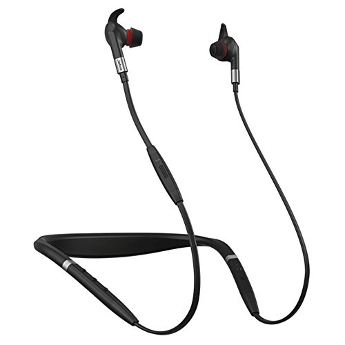 Jabra Evolve 75e Bluetooth-Headset USB Bundle - VoIP-Kommunikation - Windows PC, MAC, Smartphone, Streaming-Musik, Avaya, Skype, Cisco, Bria - inkl. Bonus-Ladegerät MS Bundle B250xt Bluetooth