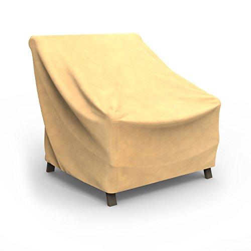 Budge Allwetter-Abdeckung für Gartenstühle, Größe XL (hellbraun)