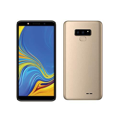 Smartphone Kompatibel mit Android 6.0,Nourich (6,0 Zoll) 512 MB interner Speicher, 4GB RAM, Dual SIM/Camera,Schwarz Blau Gold Rot Global Version Mobiltelefon Mobile Phone Cellphone Handy (Gold) - 4g T-mobile Android-handy