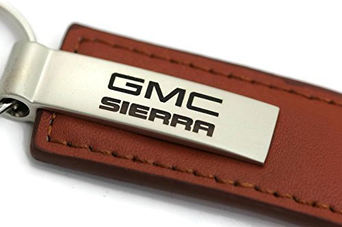 dantegts-gmc-sierra-leder-kette-rechteckig-key-ring-schlusselanhanger-lanyard-braun