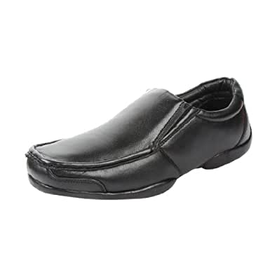Fortune (from Liberty) Men's Black Leather Formal Shoes - 10 UK